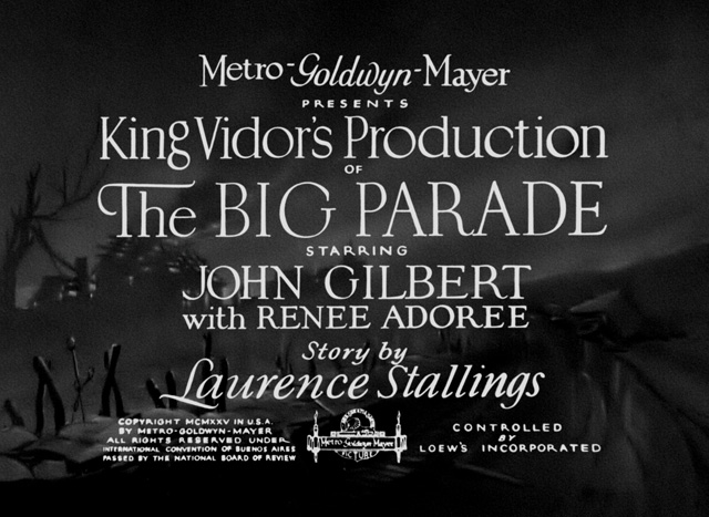 big-parade-title-card
