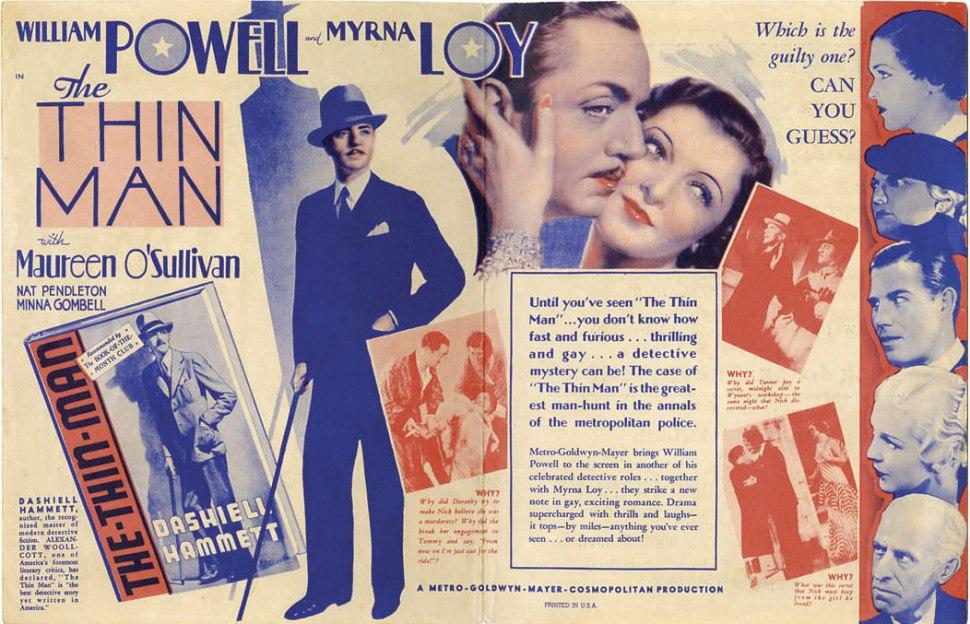 thin man poster 2