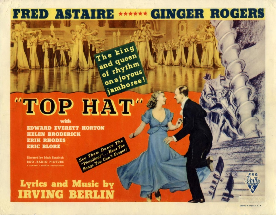 top hat poster 2