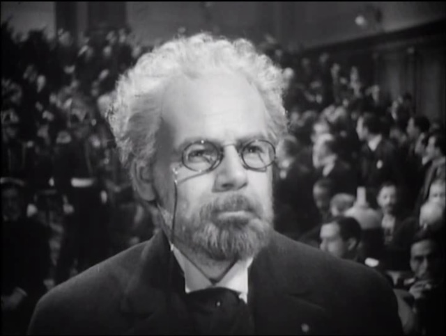 Paul Muni as Emile Zola in 1937