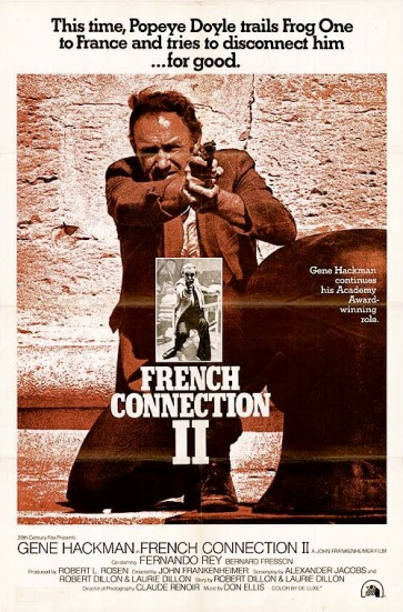 french connection 2 poster