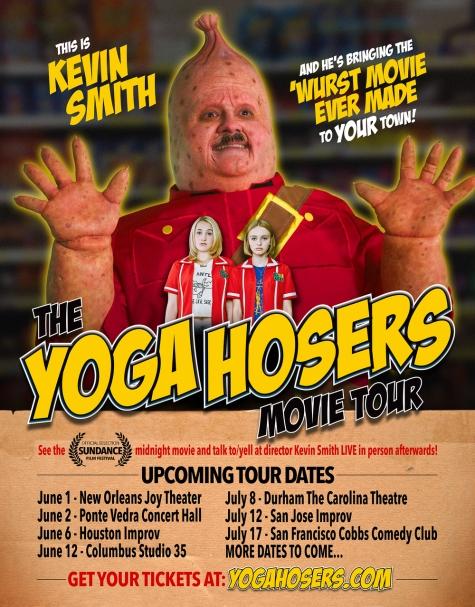 yoga hosers flyer