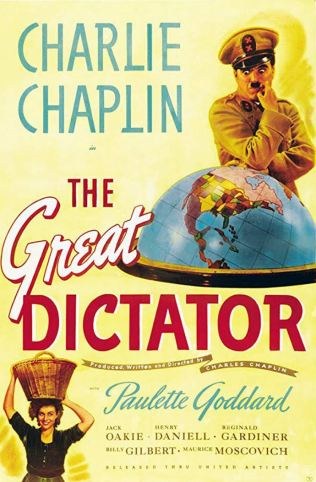 great dictator poster