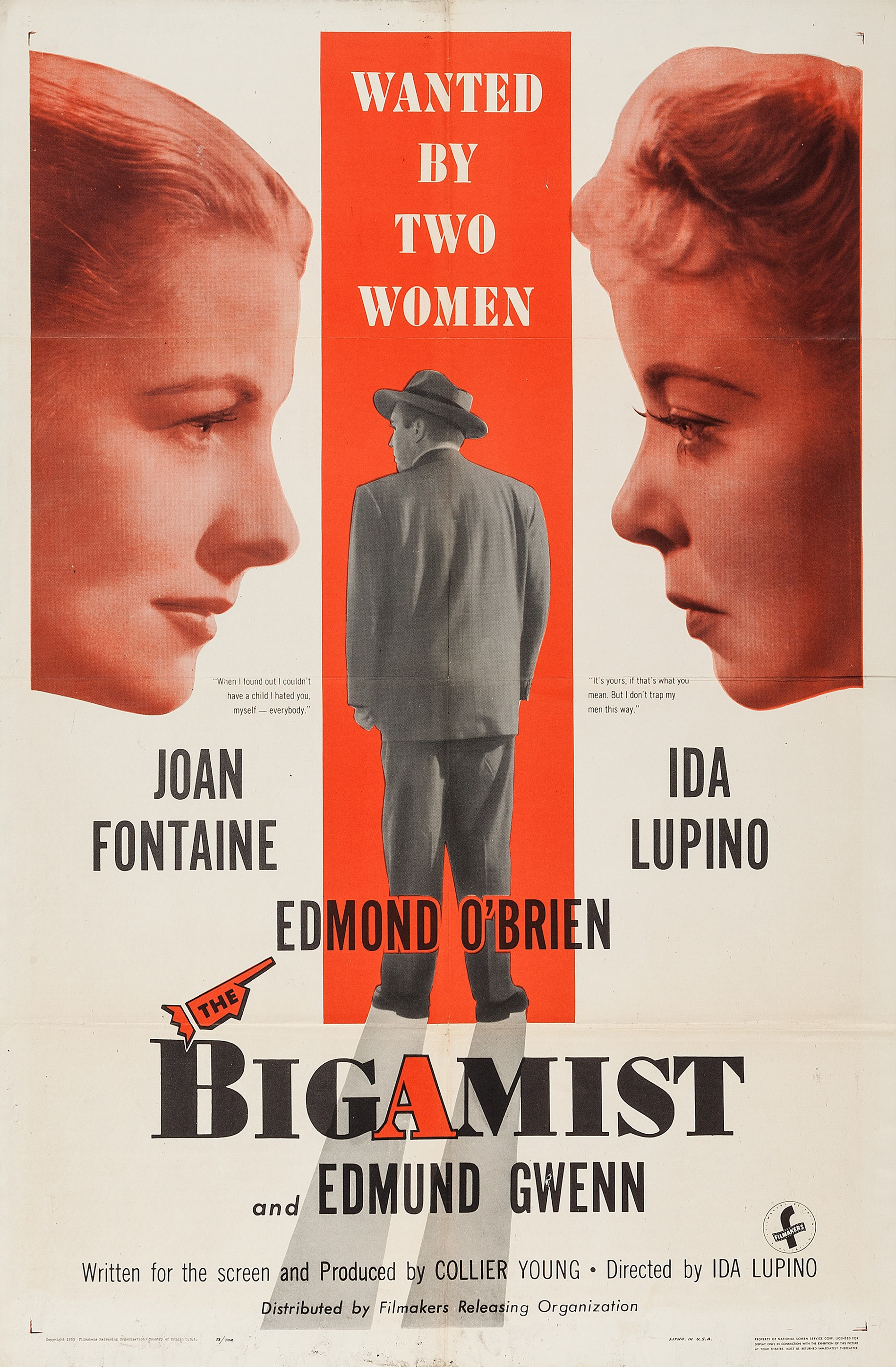 253 The Bigamist 1953 Thousand Movie Project
